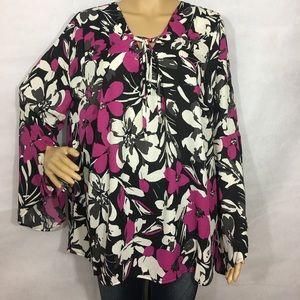 Flare sleeve blouse xl